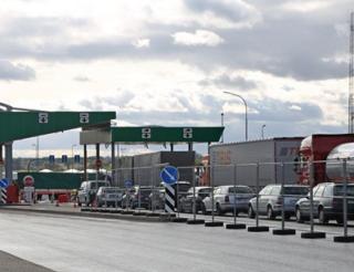 очередь на белорусской границе